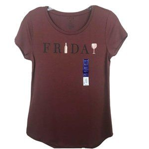 🌸 3 for $20🌸 Apt 9 Friday Wine Graphic Tee